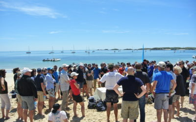 Team Building dans les îles de Bretagne Sud